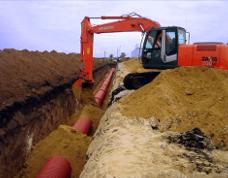 Прокладка трубопровода в Уфе